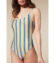 calzedonia cristina swimsuit woman blue size l