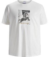 plus size t-shirt dieren fotoprint