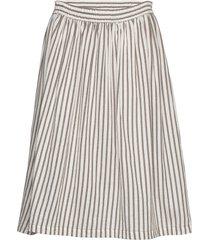 augustasz skirt knälång kjol beige saint tropez