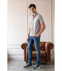 jeans semifitted denim arrugas 3d