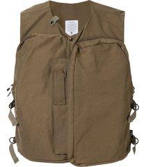 as2ov shrink camp vest - green