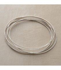 sterling orbit bangle bracelets