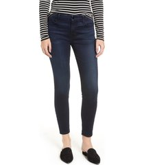 women's jen7 by 7 for all mankind stretch ankle jeans, size 2 - blue