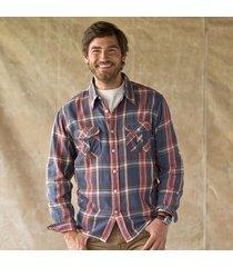 montana plaid flannel shirt