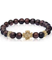 be unique designer men's bracelets, antique style bracelet w/ebony beads