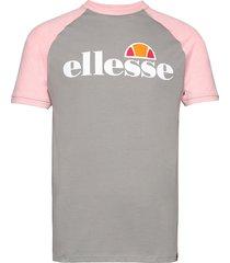 el corp tee t-shirts short-sleeved grå ellesse