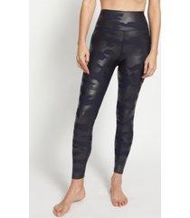 sage women's everyday 7/8 camo gloss leggings