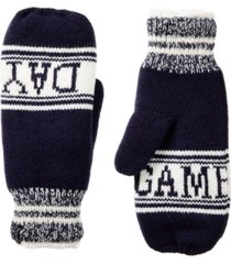 isotoner signature women's smartdri game day mittens