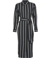 lange jurk lauren ralph lauren rynetta-long sleeve-casual dress