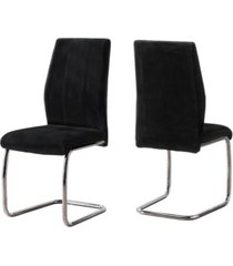 "monarch specialties dining chair - 2 piece 39"" h"