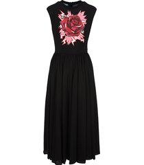 prada rose maxi dress