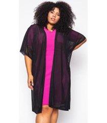 kimono almaria plus size alt brand tule feminino