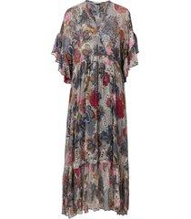 maxiklänning flora dress