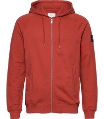 branch hooded sweatshirt hoodie trui rood makia
