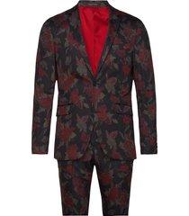 aop suit pak zwart lindbergh