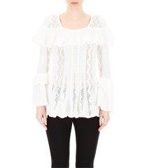 cotton maxi knit top