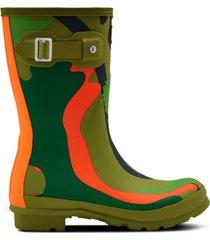 women's original rockpool camo short rain boots