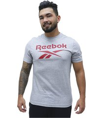 camiseta stacked reebok