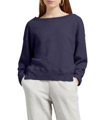 women's michael stars miri brighton fleece pullover