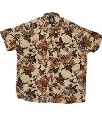 camisa beige lava honolulu