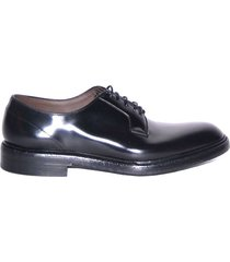 lace-up derby with non-slip sole