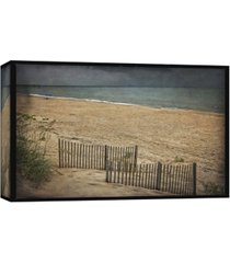 ptm images, beach at dusk decorative canvas wall art