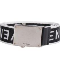 givenchy fabric belt with jacquard logo