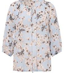 blouse zonder sluiting van uta raasch blauw