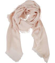 tory burch logo jacquard traveler scarf