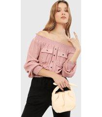 blusa rosa active