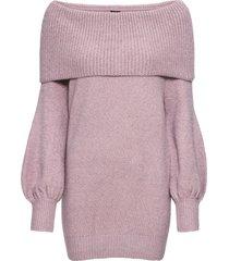 maglione con collo a ciambella (viola) - bodyflirt