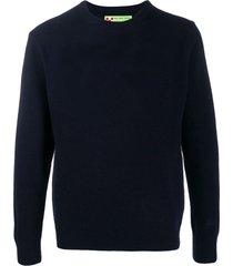 blended cashmere blue mans sweater