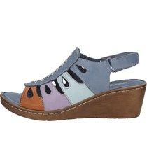 sandaletter gemini blå