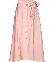 ena p skirt 11465 knälång kjol rosa samsøe & samsøe