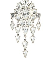 'trifari' diamanté dangle brooch