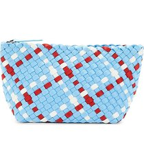 naghedi women's small portofino cosmetic bag - sky