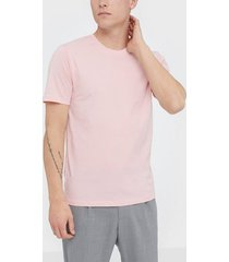 selected homme slhtheperfect ss o-neck tee b t-shirts & linnen ljus rosa