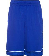 short masculino baseline - azul