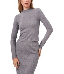 1.state mock neck knit top