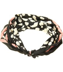 bandana animal print multicolor i-d