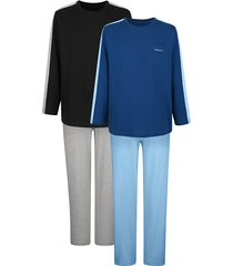 pyjama's per 2 stuks babista zwart::blauw