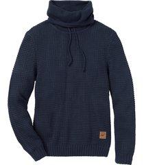 maglione a collo alto regular fit (blu) - john baner jeanswear