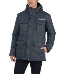 hurley men's north jacket