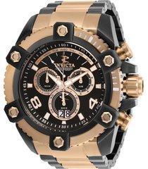 reloj invicta modelo 13017_out rosa oro, gunmetal hombre