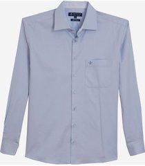 camisa dudalina manga longa tricoline lisa masculina (generico, 7)