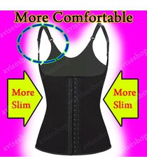 underbust waist cincher strap vest trainer girdle control chaleco body shaper