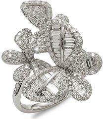 effy women's 14k white gold & diamond cocktail ring - size 7