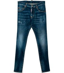 dsquared2 dark denim jeans teen
