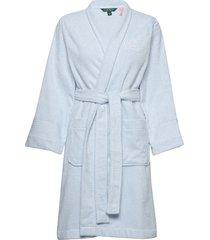 lrl essential the greenwich robe morgonrock blå lauren ralph lauren homewear