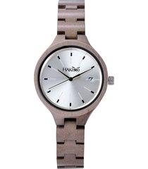 reloj madera hakoo origen601